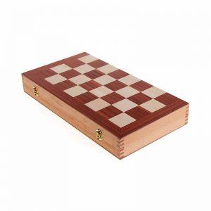 Дървена кутия за Табла и Шах