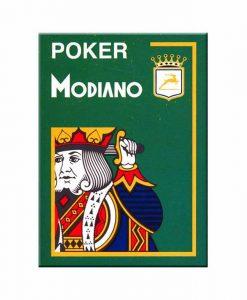 Покер карти Modiano Сristalo OP сини
