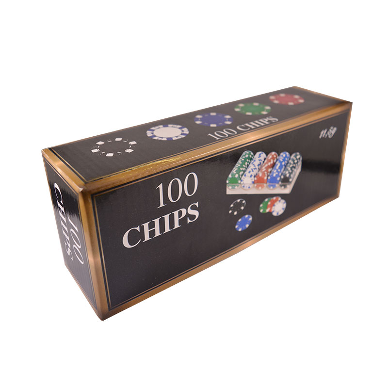 100 покер чипа