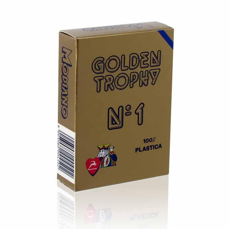 Карти за покер Golden Trophy 100% пластик