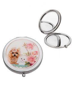 Козметично огледалце Коте и Куче