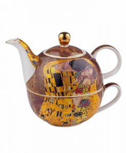 Комплект чаша и чайник Целувката