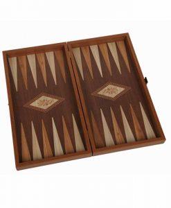 Дървена кутия табла и шах Венге