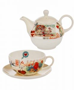 Чайник и чаша Ангелчета Tea for One