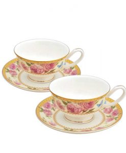 Комплект чаши матине Роза Дантела
