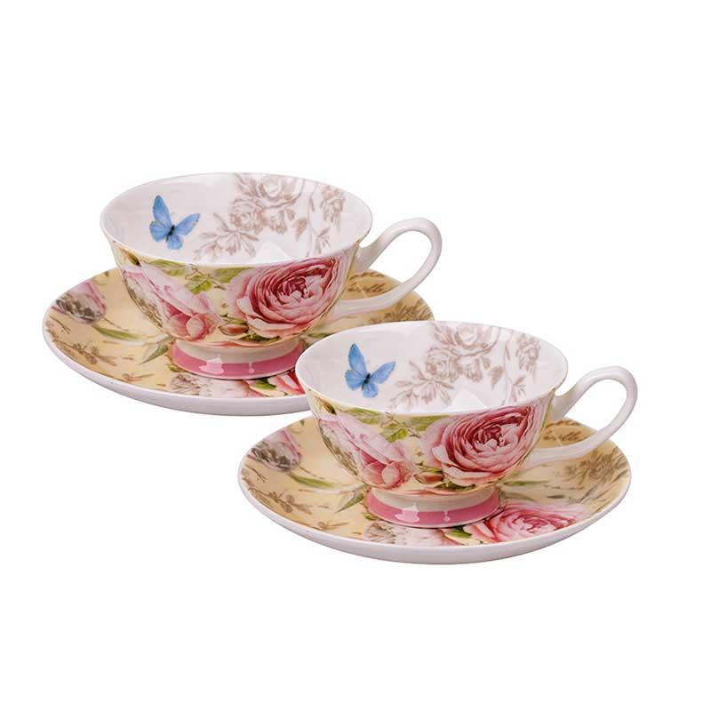 Комплект за кафе и чай Роза матине
