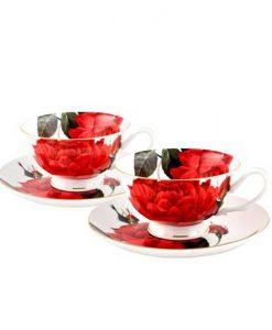 Сет чаши Червена Роза
