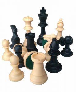 Пластмасови фигурки за шах 95мм утежнени