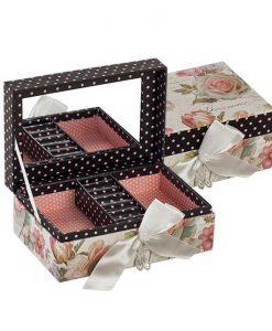 Кутия за бижута Роза