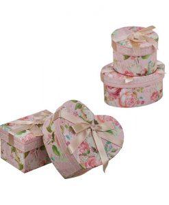 Комплект кутии за бижута Роза