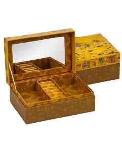 Кутия за бижута Целувката с огледало