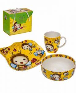 Детски комплект за хранене Пчеличка