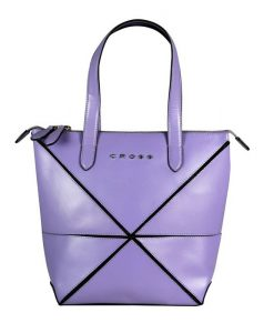 Дамска чанта лилава Cross Origami Collapsible