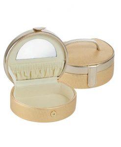 Малка кутия за бижута Златиста