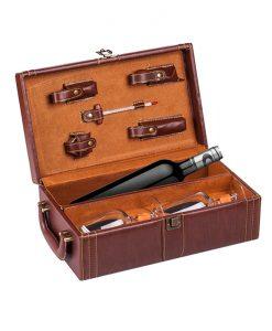 Луксозен комплект за вино