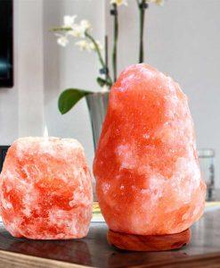 Лампи от Хималайска сол