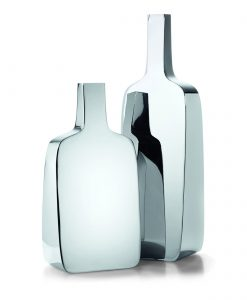 "PHILIPPI Стоманена ваза ""Бутилка"" - S размер"