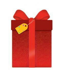 Картичка в плик Подарък