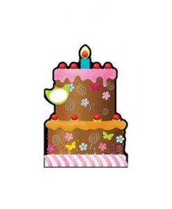 Картичка в плик Торта