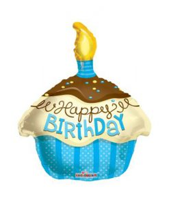 Фолиев балон Торта Happy Birthday