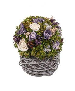 Декорация изкуствени цветя
