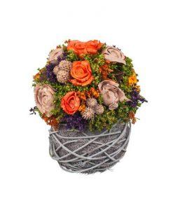 Аранжировка изкуствени цветя