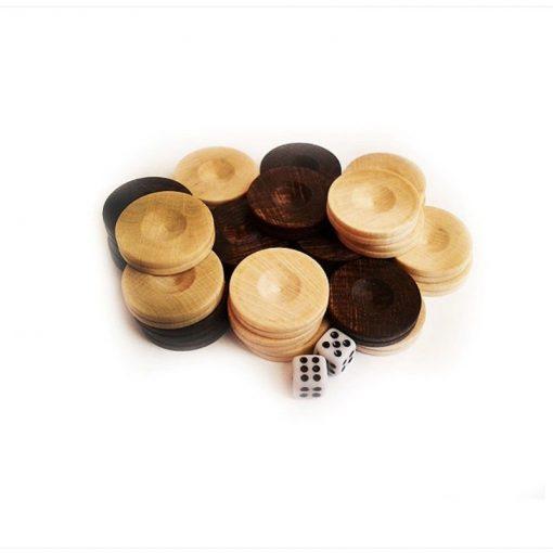Дървени пулове за табла бук 23 мм