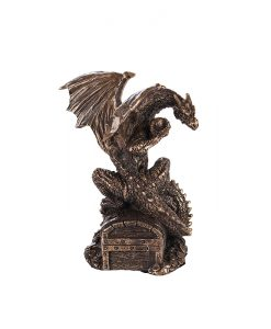 дракон съкровище статуетка