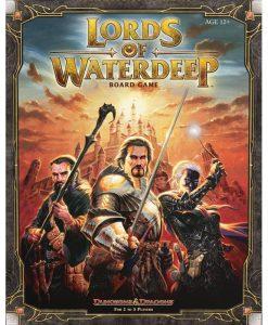 настолна игра LORDS OF WATERDEEP