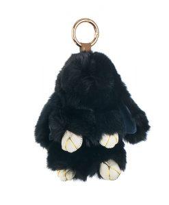 Ключодържател черно зайче