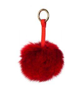 Ключодържател червена топка - онлайн магазин Подаръци Дейзи