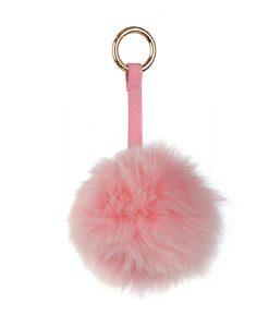 Ключодържател розова топка - онлайн магазин Подаръци Дейзи