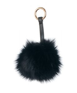 Ключодържател черна топка - онлайн магазин Подаръци Дейзи