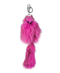 Ключодържател розова лисица - онлайн магазин Подаръци Дейзи