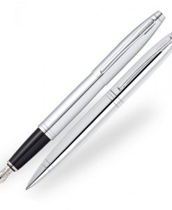 Комплект писака и химикалка Cross Calais Chrome