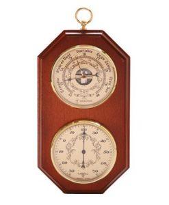 Термометър и барометър за стена