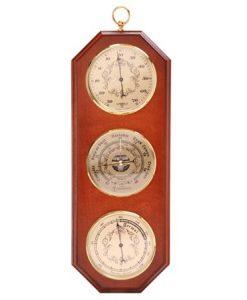 Термометър, барометър, хидрометър за стена