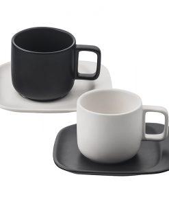 Комплект 2 чаши + 2 чинийки