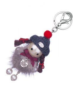 Ключодържател момиче с шапка