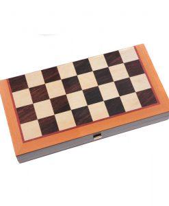 Дървена табла и шах Manopoulos, голяма