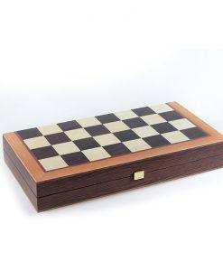 Дървена табла и шах Manopoulos