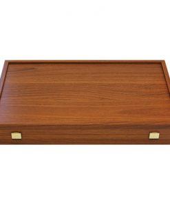 Дървена табла със странични отделения