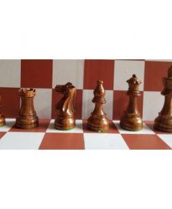 Шахматни дървени фигури класик, Стаунтон 6 дизайн, индийски палисандър
