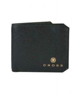 Мъжки портфейл с монетник First Class, черен