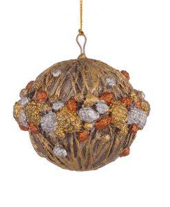 Коледна играчка за елха - топка