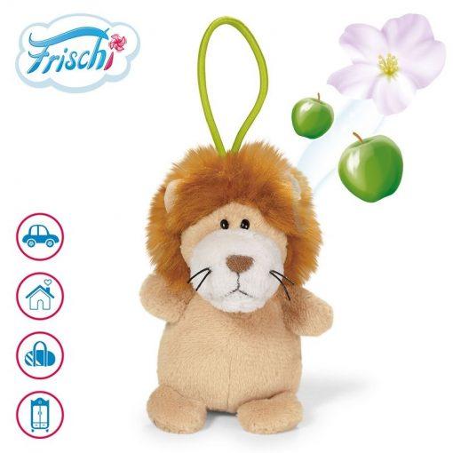 Ключодържател плюшен 2в1 лъв с аромат на ябълка