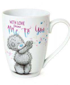 Чаша с мече и надпис WITH LOVE FROM MTY