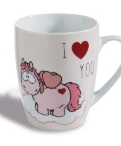 Чаша с еднорог I HEART YOU