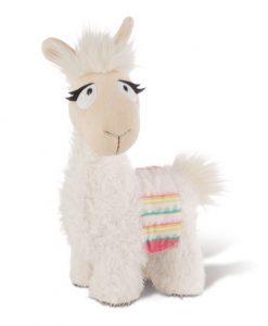 Плюшена играчка Лама със седло, Dalia Lama with saddlecloth 32cm