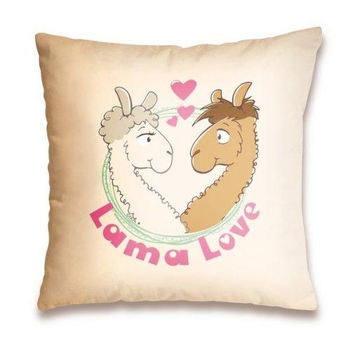 """Възглавница """"Lama Love"""""""